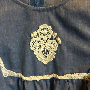 60s style blouse